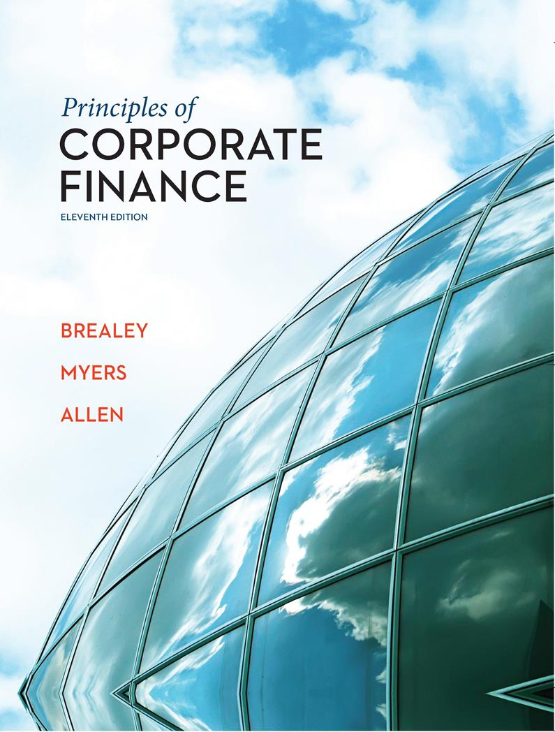 Principles of corporate finance, 11th Edition – Richard A. Brealey
