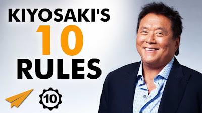 10 kunci sukses robert kiyosaki, robert kiyosaki, quote robert kiyosaki, kemudahan rejeki