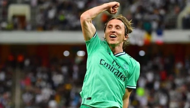 A press report claimed that Zvonimir Popan was going to be the password for the arrival of Real Madrid star Luka Modric to Milan.