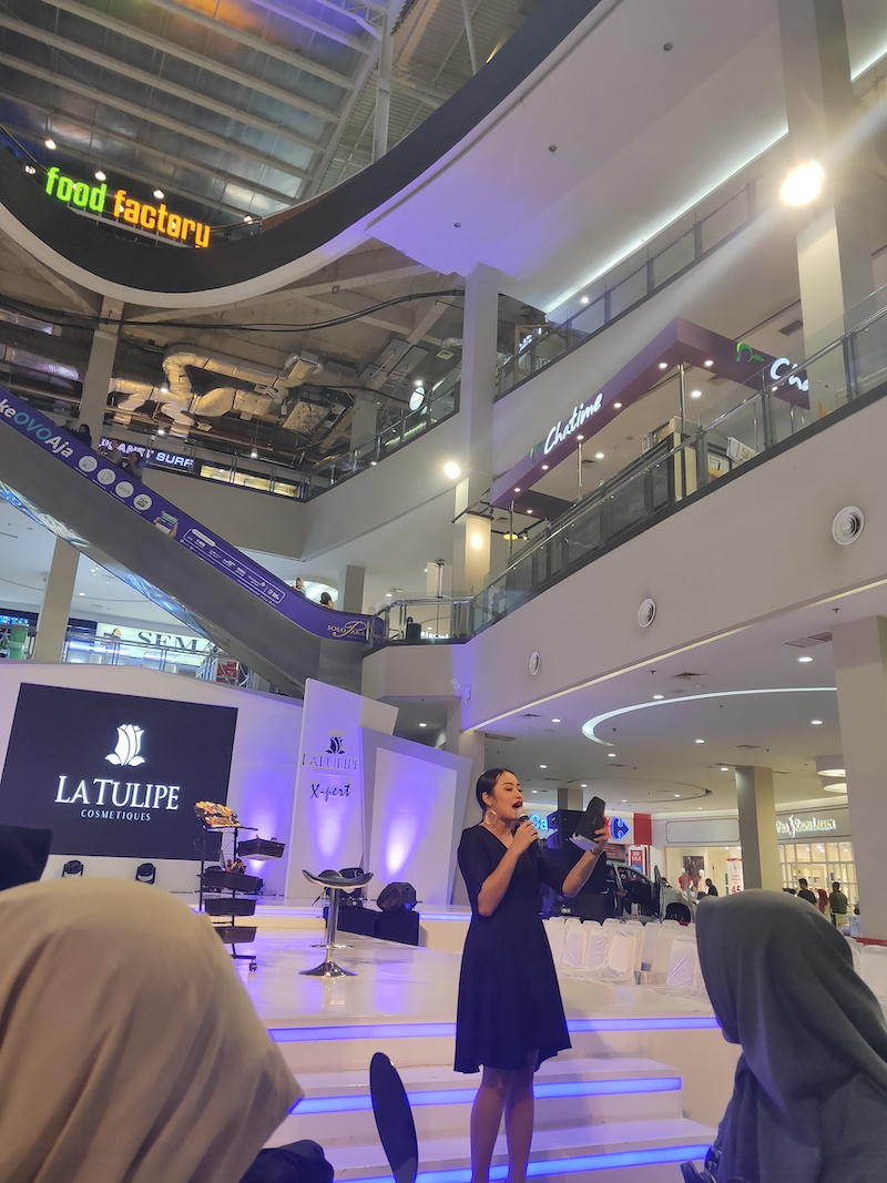 Keseruan Event Beauty Class dan Hijab Tutorial KEBSolo x LT Pro Cosmetics