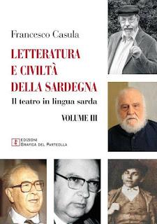 """Pubblicato il 3° volume della """"Letteratura e civiltà della Sardegna"""" di Francesco Casula"""
