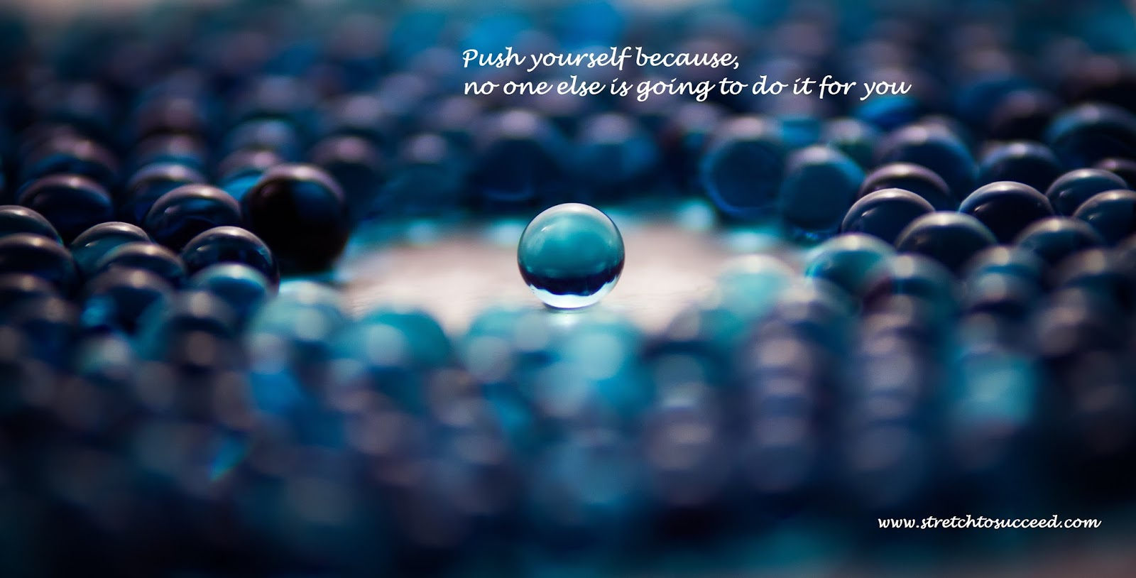 Stretch To Succeed Push Yourself Because No One Else Is Going To