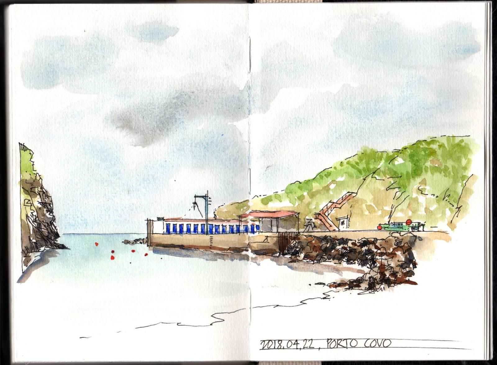 Porta Tv Brest.Porto Covo Urban Sketchers