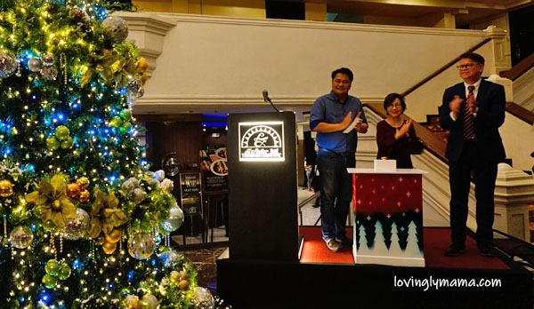 L'Fisher Hotel Bacolod helps - Welcome Home Foundation Inc - charity - CSR - Bacolod hotels - Bacolod City - Bacolod mommy blogger - children - deaf kids - hearing impaired - switch on - tree lighting ceremony - Victor Alcantara - Cong Greg Gasataya