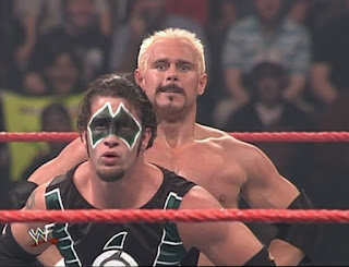 WWE / WWF Rebellion 2001 - Scotty 2 Hotty faced The Hurricane