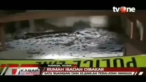 Gereja Dibakar di Sulbar, Netizen: Sudah Biasa, Komnas HAM Pun Terdiam