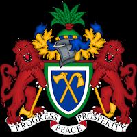 Logo Gambar Lambang Simbol Negara Gambia PNG JPG ukuran 200 px