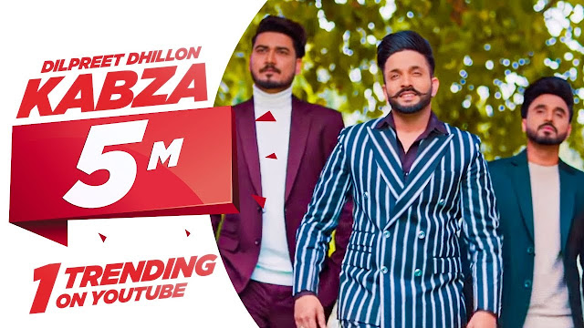 Dilpreet Dhillon Kabza Lyrics in Hindi