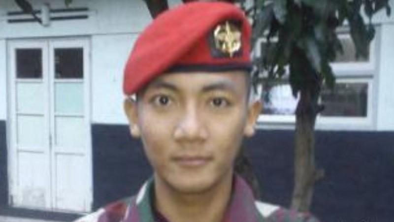 Pratu Galang, anggota Kopassus yang tewas dikeroyok geng motor