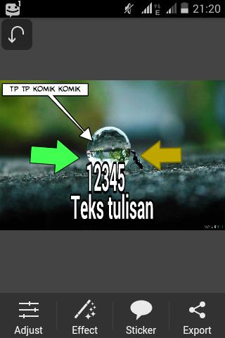 aplikasi edit poto di android mengunakan picsay
