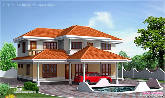 2500 sq-ft home, Alappuzha, Kerala