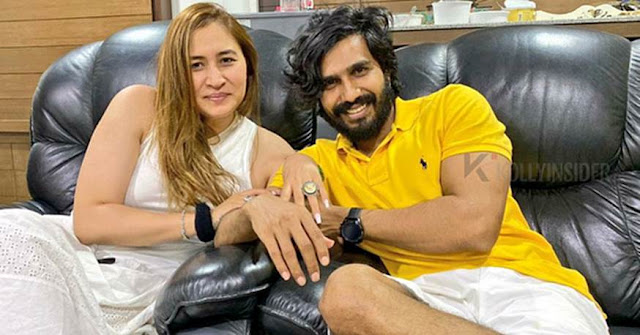 Vishnu Vishal got engaged with badminton player