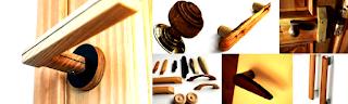 Wood Door Handles (Gagang Pintu Kayu)