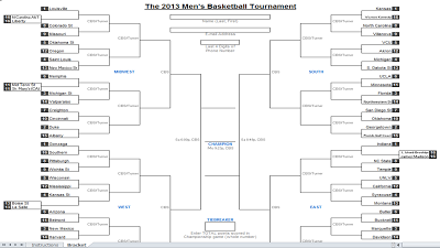 Get your 2013 March Madness Brackets! It's time to try and predict the ...