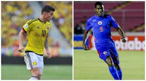Colombia vs Haití en amistoso internacional
