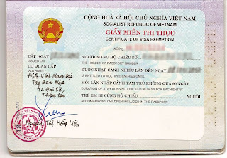 Esenzione dall'obbligo del visto per i coniugi vietnamiti