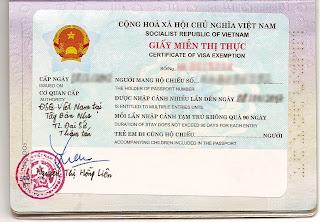 Visa exemption for Vietnamese spouses