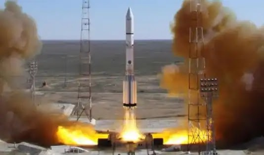 Russian rocket launches UK telecom satellites after delay