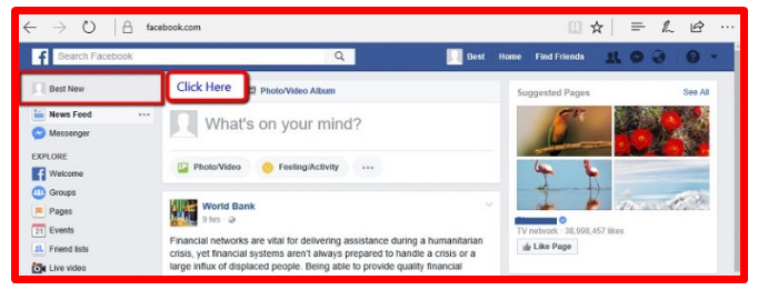 how to remove follow option on facebook