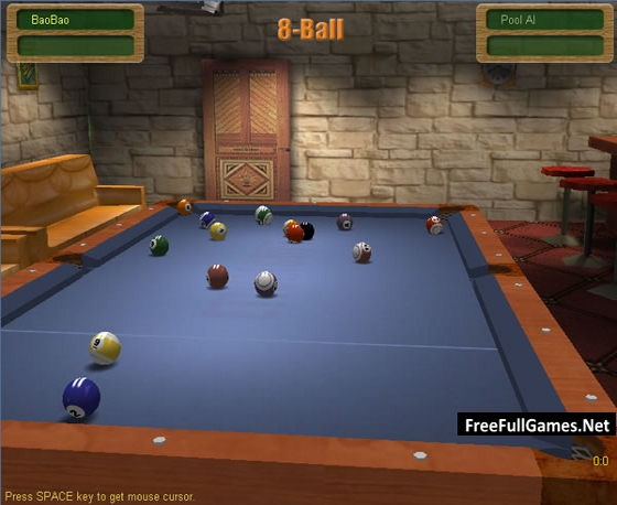 3D Live Pool PC Game Free Download Full Version