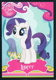 My Little Pony Rarity Series 1 Trading Card