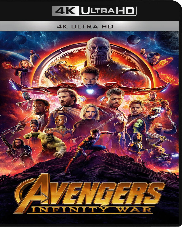 Avengers: Infinity War [2018] [UHD] [2160p] [Latino]