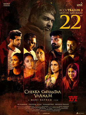 Chekka Chivantha Vaanam 2018 UNCUT Dual Audio Hindi 480p HDRip 400MB