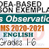 Sample Lesson Exemplars in English  Grades 2-6  Q2