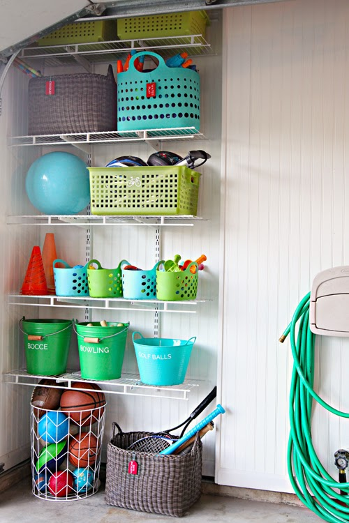 Check Out More On This Amazing Garage Outdoor Toy Storage At Iheart Organizing