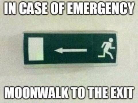 Knock Knock Emergency Exit