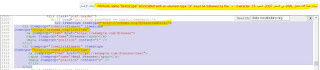 مشكلة attribute name itemscope associated with an element type ol must be followed by equal sign