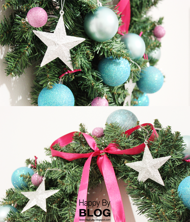 HAPPY BY: 2 non-traditional holiday wreaths