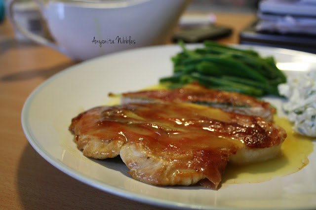 Turkey Saltimbocca waiting to be eaten from www.anyonita-nibbles.com