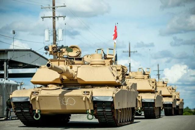 quân đội Mỹ Nhận Abrams phiên bản mới