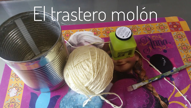 Materiales para decorar lata