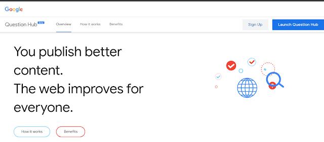 Question Hub - Fitur Baru Google menjawab pertanyaan dengan konten audien anda