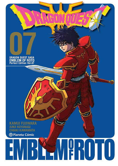"""Reseña de """"Dragon Quest: Emblem of Roto"""" vol. 7 de Kamui Fujiwara - Planeta Cómic"""