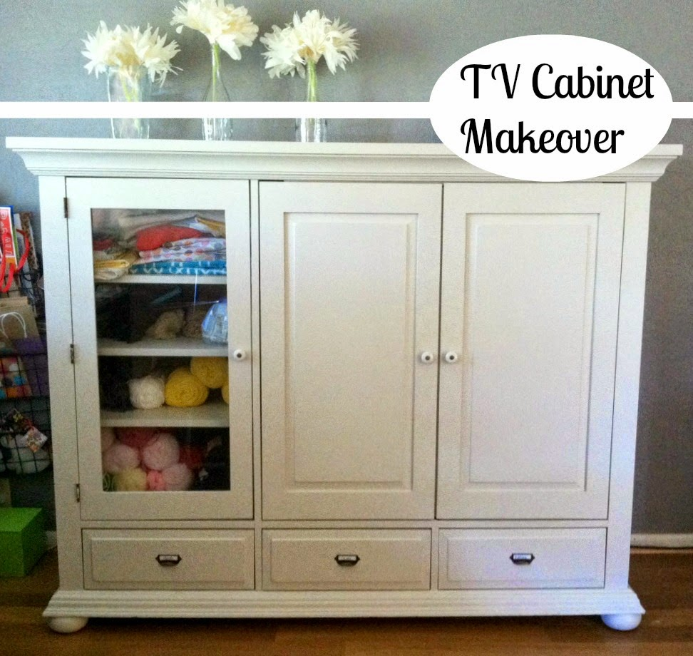 Healthy Happy Home: TV Cabinet Makeover