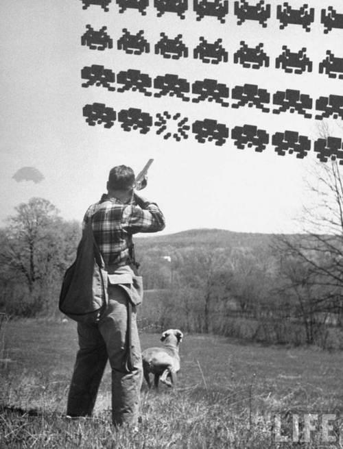 Space Invaders Com