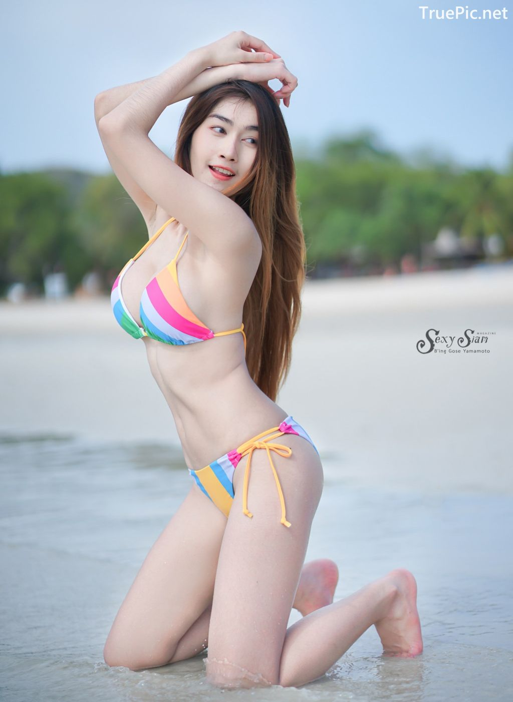 Image-Thailand-Hot-Model-Nisa-Khamarat-Bikini-For-Songkran-Festival-TruePic.net- Picture-9