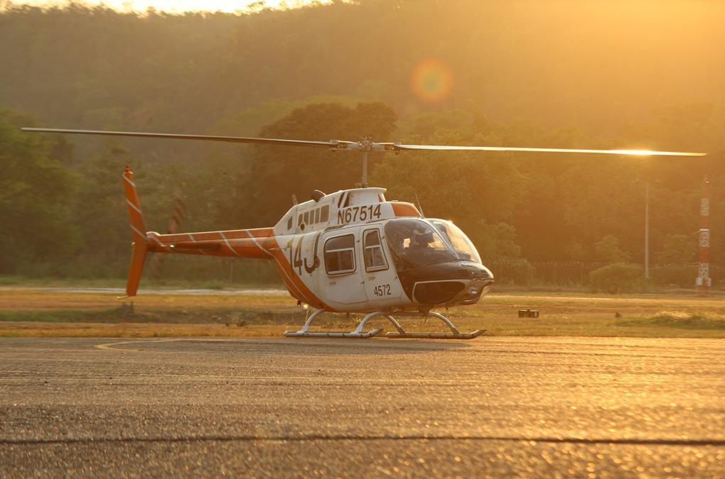 fuerza aérea colombiana recibe sus primeros bell th 67 creek para la