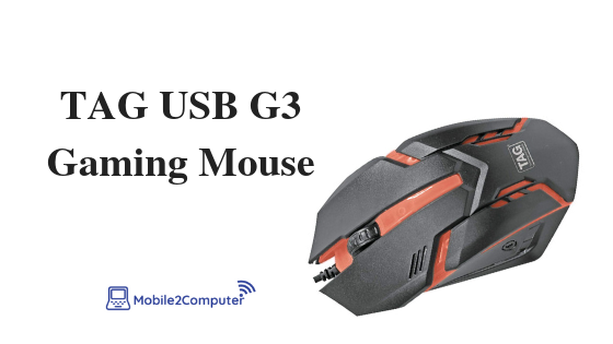 TAG USB G3 Best Budget Gaming Mouse