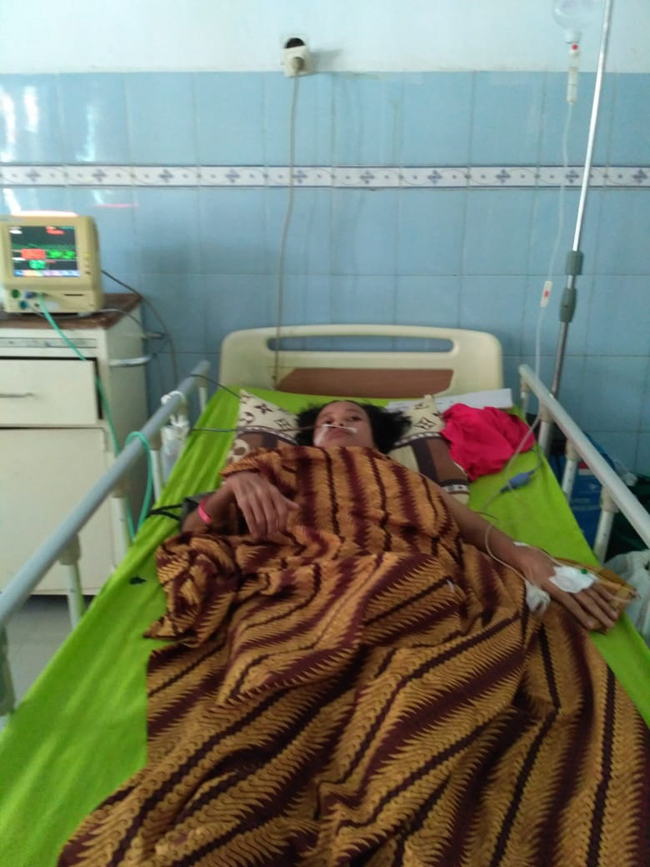 Ifeksi Kanker Perut Terus Meluas, Tumiasih Akhirnya Dirujuk ke RS Abdoel Moeloek