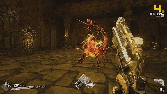 BPM: Bullets Per Minute video game scene