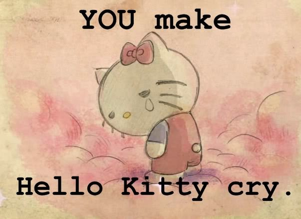 Unduh 97+ Gambar Hello Kitty Menangis Paling Baru Gratis