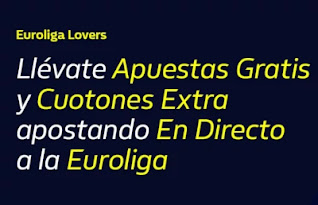 William hill Euroliga Lovers 12-18 octubre 2020