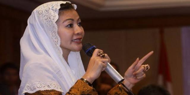 Hasnaeni 'Wanita Emas' Nilai Pengalaman Politik AHY Minim : Detikberita.co Terupdate Hari Ini
