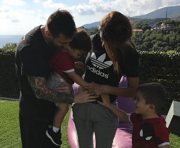 Lionel Messi and wife expecting baby number 3