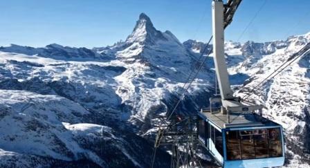 Tempat Wisata Paling Indah Untuk Dikunjungi Di Negara Swiss  Zermatt dan Matterhorn