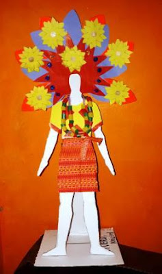 Panagbenga Festival Paper Doll